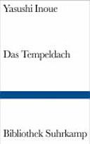 Cover image of Das Tempeldach : ein historischer Roman