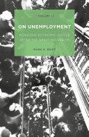Pdf On Unemployment, Volume II Telecharger