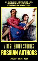 7 best short stories   Russian Authors