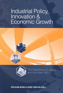 Industrial Policy  Innovation and Economic Growth