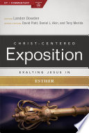 Exalting Jesus in Esther