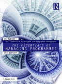 The Essentials of Managing Programmes Book