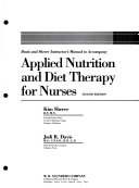 Davis And Sherer Instructor S Manual To Accompany Applied Nutrition And Diet Therapy For Nurses Second Edition PDF