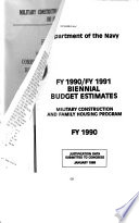 Military Construction Appropriations for 1990