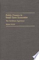 Public Finance in Small Open Economies