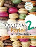 Facon De Parler 2 Coursebook 5th Edition