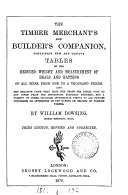 The Timber Merchant s and Builder s Companion