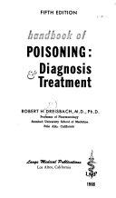 Handbook of Poisoning  Diagnosis   Treatment