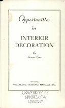 Opportunities In Interior Decoration