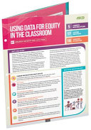 Using Data for Equity in the Classroom  Quick Reference Guide 25 Pack