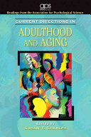 Cover of Current Directions in Adulthood and Aging