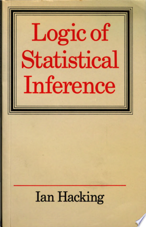 Download Logic of Statistical Inference Free Books - Dlebooks.net