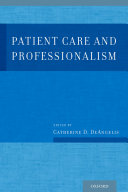 Patient Care and Professionalism