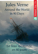 Around the World in Eighty Days (English French Edition illustrated)
