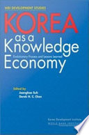 Korea as a Knowledge Economy Book