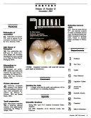 CDA Journal of the California Dental Association Book