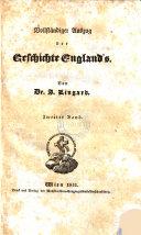 Bollstandiger Auszug der Geschichte England's