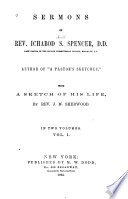 Sermons of Ichabod S  Spencer