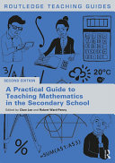A Practical Guide to Teaching Mathematics in the Secondary School Pdf/ePub eBook