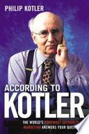 According to Kotler