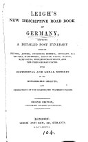 Leigh s new descriptive road book of Germany