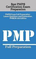 Best PMP R  Certification Exam Preparation