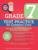 Barron's Core Focus Grade 7: Test Practice for Common Core