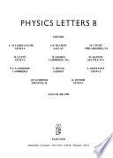 Physics letters : [part B].