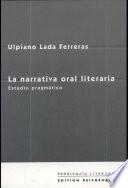 La narrativa oral literaria  : estudio pragmático