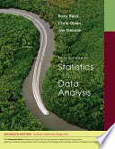 Introduction to Statistics and Data Analysis, Enhanced Review Edition
