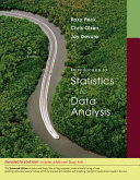 Introduction To Statistics And Data Analysis Enhanced Review Edition Book PDF