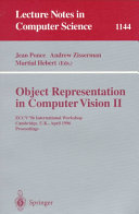 Object Representation in Computer Vision II
