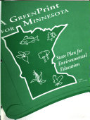 A Greenprint For Minnesota State Plan For Environmental Education