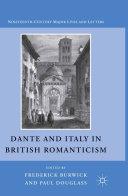 Dante and Italy in British Romanticism