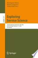 Exploring Service Science Book