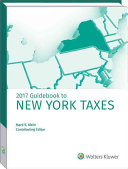New York Taxes  Guidebook to  2017