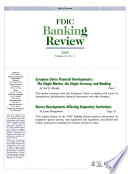 FDIC Banking Review