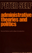 Administrative Theories and Politics