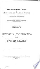 History of Coöperation in the United States