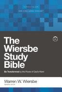 NKJV  Wiersbe Study Bible  Red Letter  Ebook