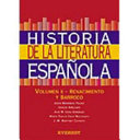 Historia de la literatura española: Renacimiento y Barroco