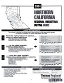 THOMAS REGIONAL INDUSTRIAL BUYING GUIDE NORTHERN CALIFORNIA 2004