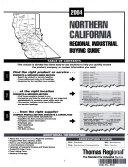 THOMAS REGIONAL INDUSTRIAL BUYING GUIDE NORTHERN CALIFORNIA 2004 Book