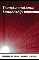 Transformational Leadership Book