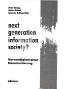Next Generation Information Society?