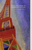 Pdf Multilingualism in Modernist Fiction Telecharger
