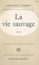 La vie sauvage [Pdf/ePub] eBook