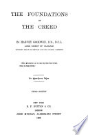 The Foundations of the Creed