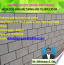 AAC block manufacturing and its application in building construction
