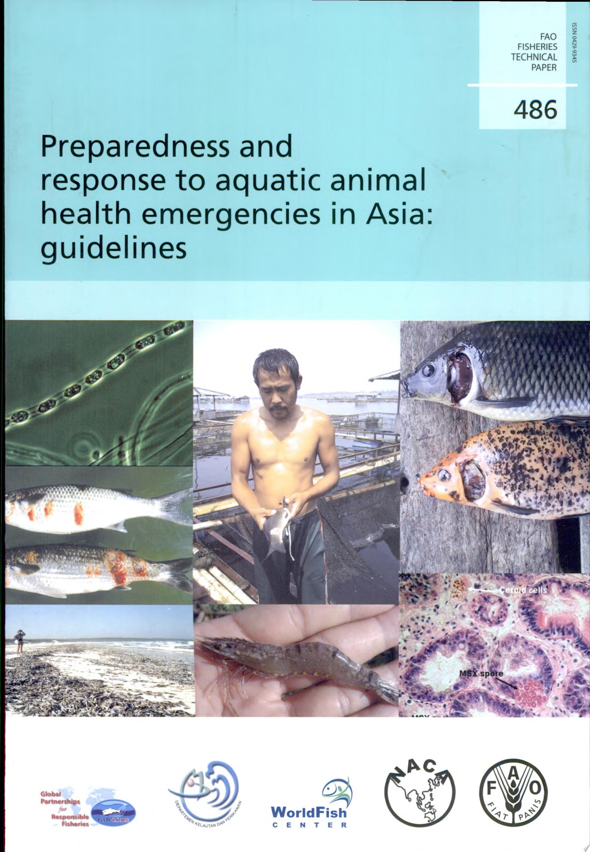 Preparedness and Response to Aquatic Animal Health Emergencies in Asia